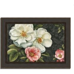 Tangletown Fine Art Floral Damask I by Lisa Audit Framed Painting Print, 44