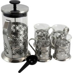 Mr. Coffee Trellise 5 Piece Coffee Press Set