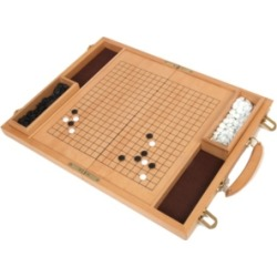 "Deluxe 15"" Wood Go Game Set"