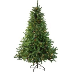 Northlight 5' Pre-Lit Canadian Pine Artificial Christmas Tree - Multi Lights found on Bargain Bro India from Macys CA for $418.26
