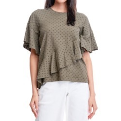 Fever Dot-Texture Sweatshirt found on MODAPINS from Macy's for USD $58.00