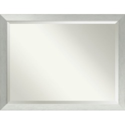Amanti Art Brushed Sterling 32x26 Wall Mirror found on Bargain Bro Philippines from Macy's Australia for $319.86
