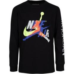 Jordan Big Boys Cotton Jumpman Classics Long-Sleeve T-Shirt found on Bargain Bro Philippines from Macy's Australia for $22.39