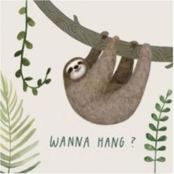 Victoria Borges Sloth Sayings I Canvas Art - 15.5