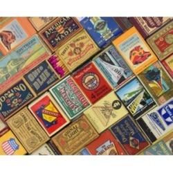 Springbok Puzzles Matchbox Railroad 500 Piece Jigsaw Puzzle