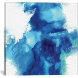 "iCanvas Ascending In Blue I by Daniela Hudson Wrapped Canvas Print - 26"" x 26"""