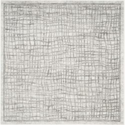 Safavieh Adirondack Silver and Ivory 10' x 10' Square Area Rug found on Bargain Bro Philippines from Macy's for $320.00