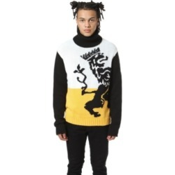 Artistix Lion Intrasia Turtleneck Sweater found on MODAPINS from Macy's for USD $98.00