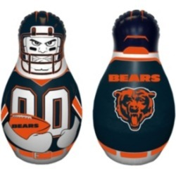 Fremont Die Nfl Chicago Bears Tackle Buddy Inflatable Punching Bag
