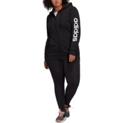 adidas Plus Size Logo-Print Zip-Up Hoodie found on MODAPINS from Macy's for USD $55.00