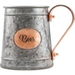 Thirstystone by Cambridge Galvanized Double Layer Beer Mug
