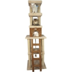 Armarkat Premium Cat Tree, Multi Levels with Condo, Rope Swing, Ladder and 2 Perches