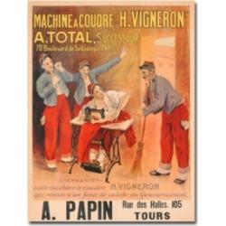 Etienne Joannon-Navier 'Machine H.Vigneron' Canvas Art - 24