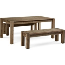 Canyon 3 Piece Dining Set, Created for Macy's, (72