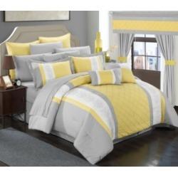 Chic Home Danielle 24-Pc Queen Comforter Set Bedding