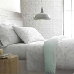 "Southshore Fine Linens Boutique Chic 22"" Extra deep, Pocket Sweetbrier Cotton Sheet Set, California King Bedding"