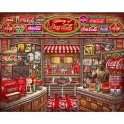 Springbok Puzzles Coca Cola History 1000 Piece Jigsaw Puzzle