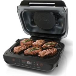 Ninja FG551 Foodi Smart Xl 6-in-1 Indoor Grill with 4-Qt. Air Fryer, Roast, Bake, Broil, Dehydrate