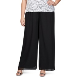 Alex Evenings Plus Size Chiffon Pants found on Bargain Bro from Macy's Australia for USD $33.90