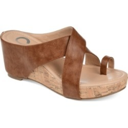 Journee Collection Women's Rayna Wedge Sandal Women's Shoes found on Bargain Bro India from Macy's for $79.99