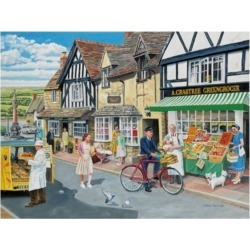 Trevor Mitchell Letters For the Greengrocer Canvas Art - 27