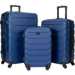 Travelers Club 3-Pc. Madison Heights Spinner Expandable Luggage Set