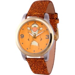 Disney Pooh Tigger Women's Two Tone Alloy Watch found on Bargain Bro India from Macy's for $49.99