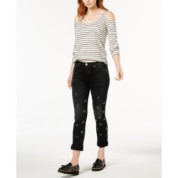 Hudson Jeans Riley Ripped Straight-Leg Jeans found on MODAPINS from Macys CA for USD $118.79