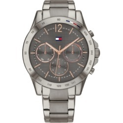 Tommy Hilfiger Women's Gunmetal-Tone Stainless Steel Bracelet Watch 38mm, Created for Macy's found on Bargain Bro Philippines from Macy's for $175.00