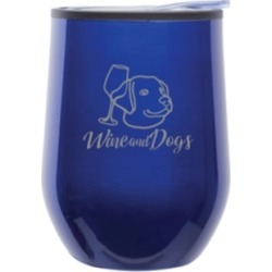Wine & Dogs Stemless Wine Tumbler with Lid found on Bargain Bro Philippines from Macy's for $26.00