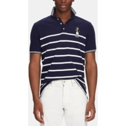 Polo Ralph Lauren Men's Classic-Fit Captain Bear Polo Shirt, Created for Macy's found on MODAPINS from Macy's for USD $98.50