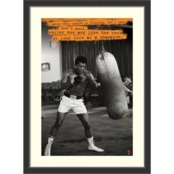 Amanti Art Muhammad Ali Framed Art Print found on Bargain Bro India from Macys CA for $174.32