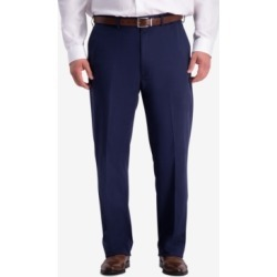 Haggar Men's Big & Tall W2W Pro Relaxed-Fit Performance Stretch Non-Iron Flat-Front Casual Pants found on MODAPINS from Macy's for USD $44.99