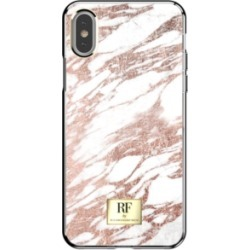 Richmond & Finch Rose Gold Marble Case for iPhone X