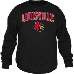 Top of the World Men's Louisville Cardinals Midsize Crew Neck Sweatshirt found on Bargain Bro India from Macy's for $49.99
