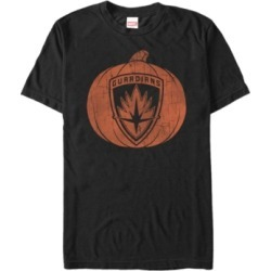 Marvel Men's Guardians of the Galaxy Shield Pumpkin Short Sleeve T-Shirt found on MODAPINS from Macy's for USD $24.99