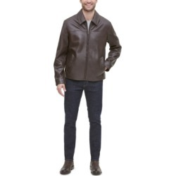 Cole Haan Men's Leather Jacket found on MODAPINS from Macy's for USD $237.99