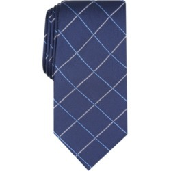 Club Room Men's Canton Grid Tie, Created For Macy's