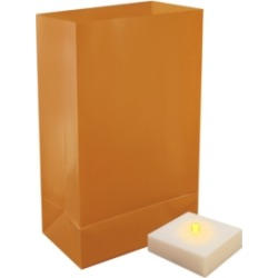 LumaBase Set of 6 Battery Operated Led Luminaria Kit