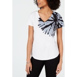 I.n.c. V-Neck Tie-Dye T-Shirt, Created for Macy's found on MODAPINS from Macy's for USD $41.65