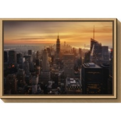 Amanti Art Manhattans light by Jorge Ruiz Dueso Canvas Framed Art found on Bargain Bro India from Macy's for $85.99