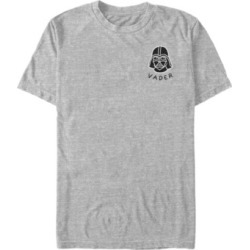 Fifth Sun Star Wars Men's Darth Vader Small Helmet Patch Short Sleeve T-Shirt found on MODAPINS from Macy's for USD $24.99