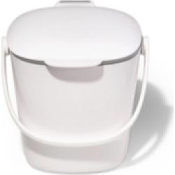 Oxo Easy Clean 0.75 Gallon Compost Bin, White