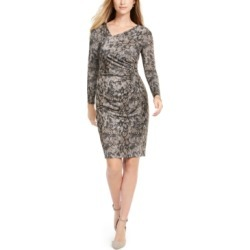 Vince Camuto Asymmetrical Snake-Print Bodycon Dress found on Bargain Bro India from Macy's Australia for $50.65