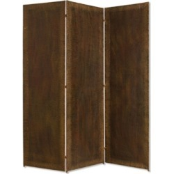 Screen Gems Copper like Industrial 3 Panel 6' Forger Screen