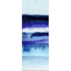 Empire Art Direct 'Shorebreak Abstract A' Frameless Free Floating Tempered Glass Panel Graphic Wall Art - 63