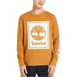 Men's Stack Tree Logo Long Sleeve T-shirt found on MODAPINS from Macy's for USD $28.00