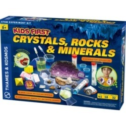 Thames & Kosmos Kids First - Crystals, Rocks, and Minerals Kit