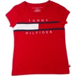 Tommy Hilfiger Little Girls Pieced Flag Tee found on Bargain Bro Philippines from Macy's for $16.87
