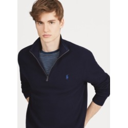 Polo Ralph Lauren Men's Textured Quarter-Zip Sweater found on MODAPINS from Macy's for USD $66.00
